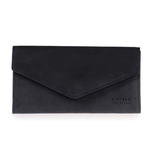 O My Bag Pixie enveloppe portefeuille - classic leather black