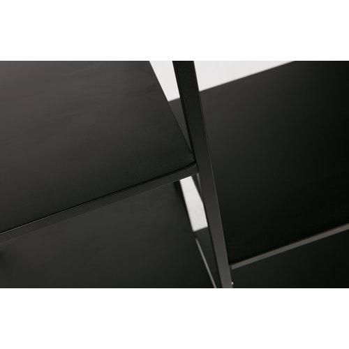 WOOOD June metalen rek zwart 85cm