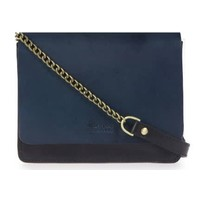 Audrey Mini handtas - classic leather black/navy