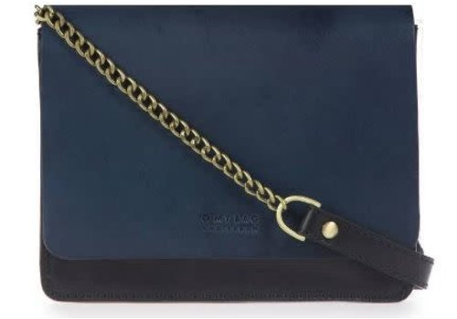 O My Bag Audrey Mini handtas - classic leather black/navy
