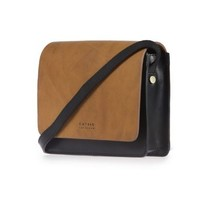 Audrey Mini handtas - classic leather zwart/cognac
