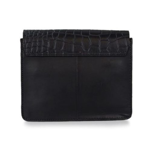O My Bag Audrey Mini handtas - classic leather black/croco