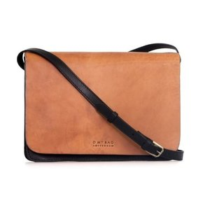 O My Bag Audrey handtas - classic leather black/cognac