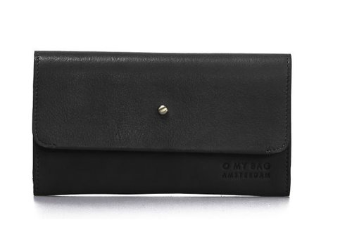 O My Bag Pixie's Pouch - soft grain leather black