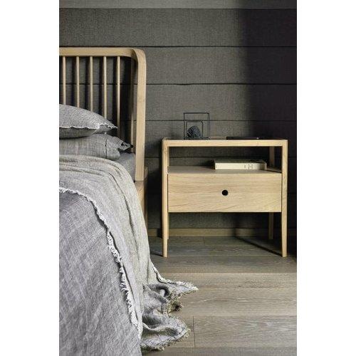 Ethnicraft Spindle bed eik matras 160cm