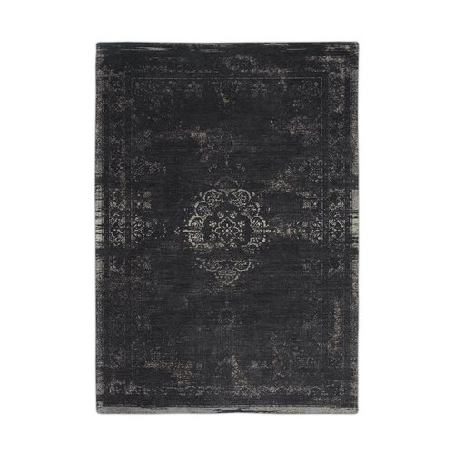 Louis De Poortere Rugs Medallion mineral black tapijt Fading World Collection