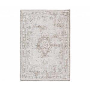 Louis De Poortere Rugs Medallion salt & pepper tapijt Fading World Collection