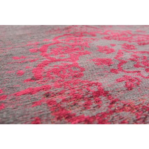 Louis De Poortere Rugs Medallion pink flash tapijt Fading World Collection