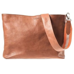 O My Bag Olivia handtas - stromboli leather cognac