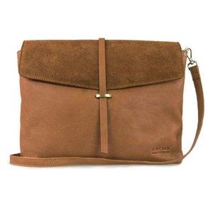 O My Bag Ella handtas - soft grain leather wild oak
