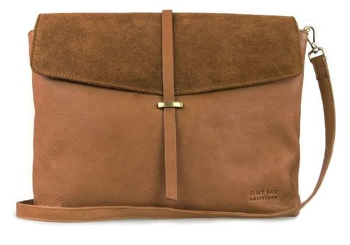O My Bag Ella handtas - soft grain leather wild oak