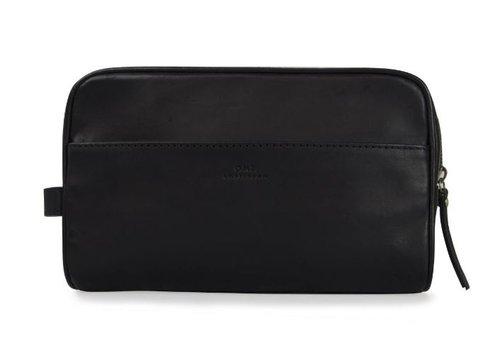 O My Bag Robin toilettas - classic leather black