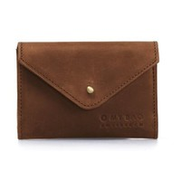 Josie's portefeuille - hunter leather camel