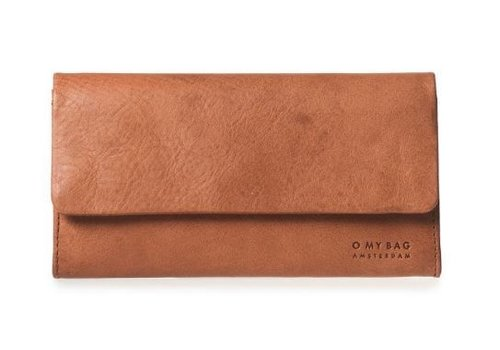 O My Bag Pau's Pouch - stromboli leather cognac