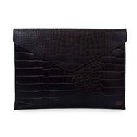 "Pol's portfolio laptophoes 12/13"" - classic leather black croco"