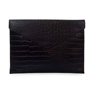 "O My Bag Pol's portfolio laptophoes 12/13"" - classic leather black croco"