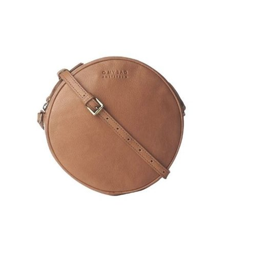 O My Bag Luna handtas - soft grain leather wild oak