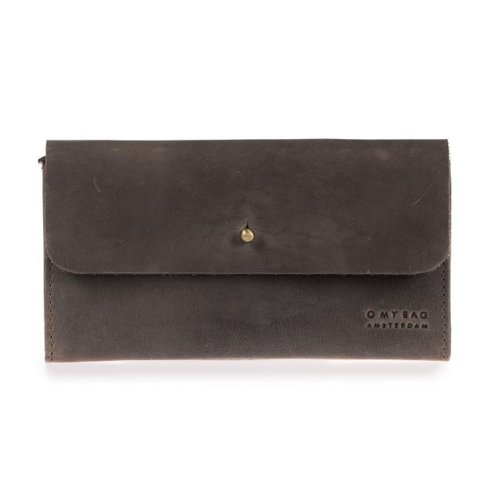 O My Bag Pixie's Pouch - hunter leather dark brown