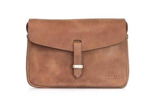 O My Bag Ally bag midi handtas - hunter leather camel