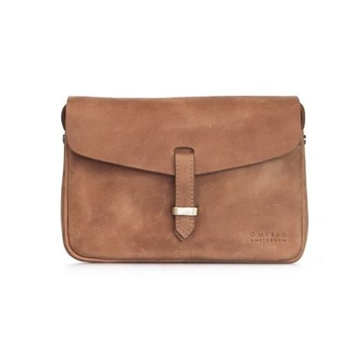 O My Bag Ally bag midi handtas - hunter leather camel