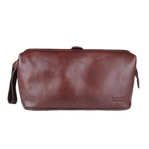 O My Bag Harvey's toilettas - classic leather brandy