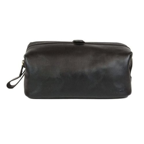 O My Bag Harvey's toilettas - classic leather black