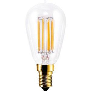 Segula LED lamp radio style clear E14 280 lm