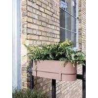 Bau Balcony plantenbak poederroze