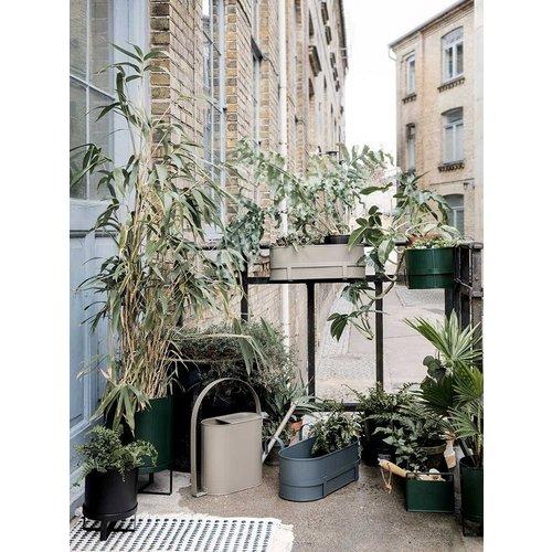 Ferm Living Bau Balcony plantenbak donkerblauw