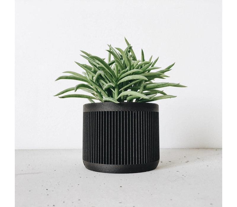 Japan bloempot zwart Ø12cm