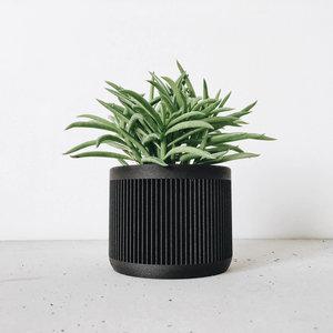 Minimum Design Japan bloempot zwart Ø5,5cm