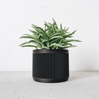 Japan bloempot zwart Ø8,5cm