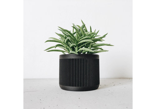 Minimum Design Japan bloempot zwart Ø8,5cm