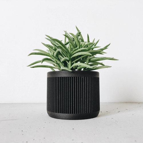 Minimum Design Japan bloempot zwart Ø 8,5 cm