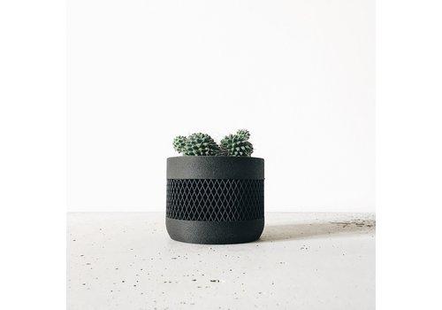 Minimum Design Math bloempot zwart Ø12cm