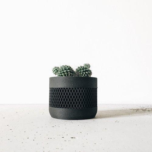 Minimum Design Math bloempot zwart Ø 5,5 cm