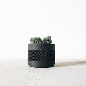 Minimum Design Math bloempot zwart Ø 8,5 cm