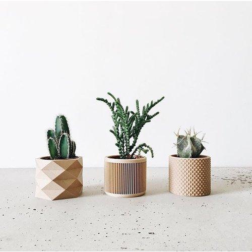 Minimum Design Japan bloempot natuur Ø 5,5 cm