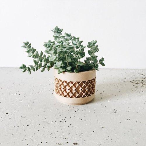 Minimum Design Aztek bloempot natuur Ø8,5cm