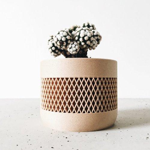 Minimum Design Math bloempot natuur Ø5,5cm