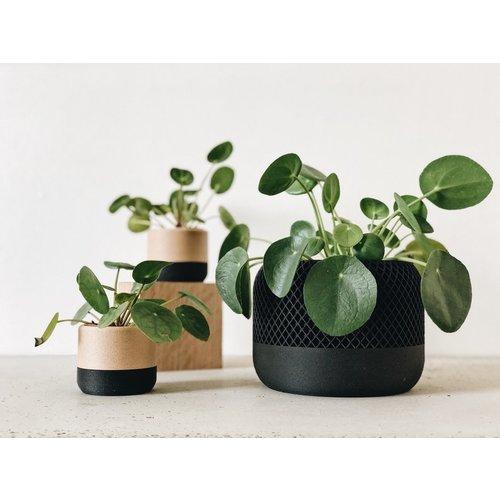 Minimum Design Apple bloempot zwart Ø12cm