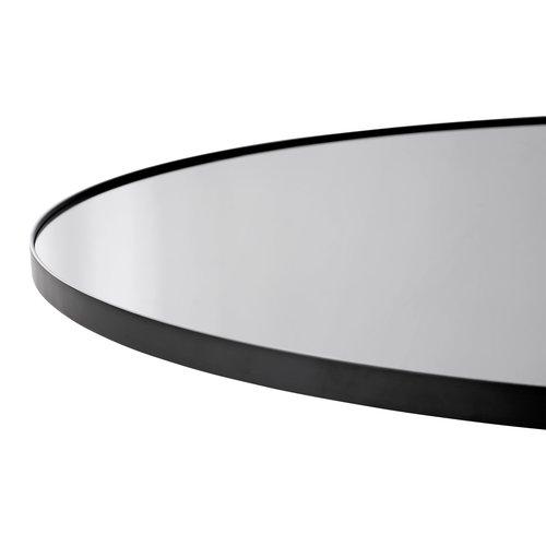 AYTM Circum ronde spiegel zwart getint glas