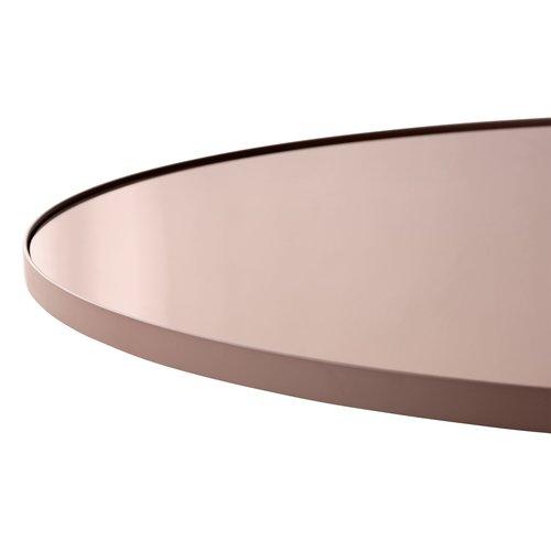 AYTM Circum ronde spiegel roze getint glas