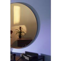 Circum ronde spiegel amber getint glas