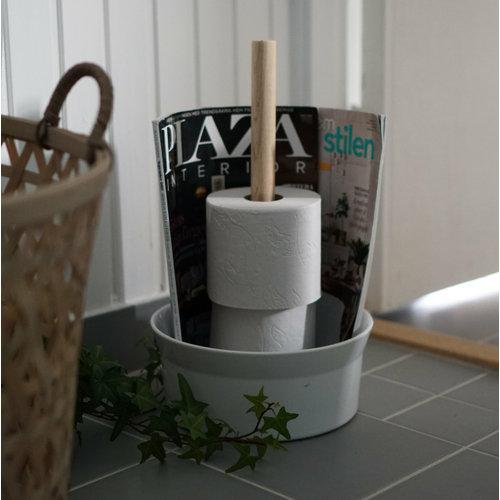 Born in Sweden Angle Toiletpapierrolhouder wit