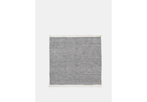 Ferm Living Blend servet 40 x 40 cm - set van 2 blauw