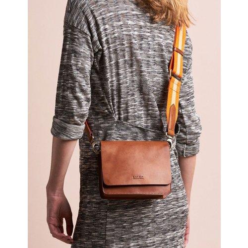 O My Bag Audrey Mini handtas - classic leather cognac