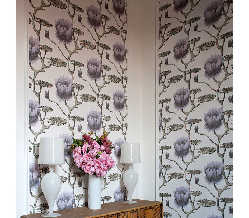 Lily behangpapier - Contemporary restyled