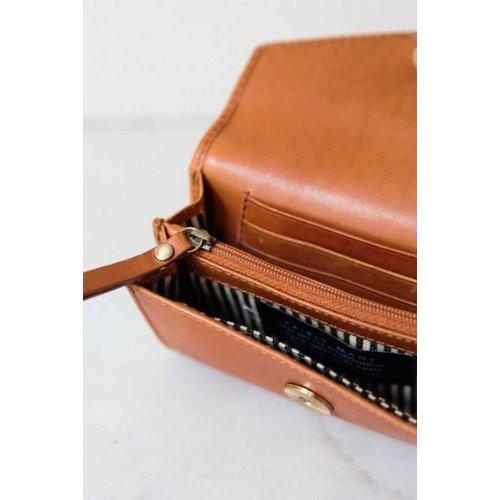 O My Bag Jo's portefeuille - classic leather cognac