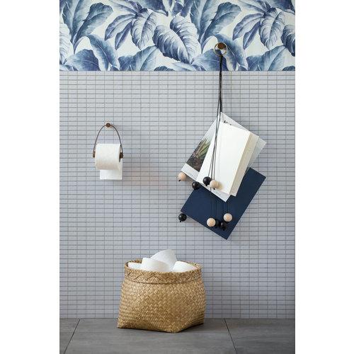 By Wirth Toiletpapierhouder gerookte eik